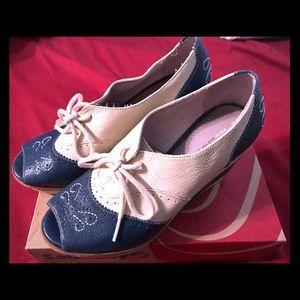 Anthropologie Pilcro & Letterpress Platform Shoes